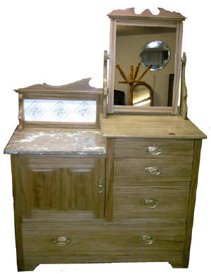 Victorian Washstand come dressing table of