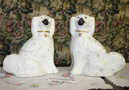 "Pair of Staffordshire ""Wally Dogs"""